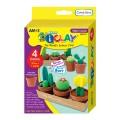 AMOS IC4CBMC Mini Cactus 仙人掌輕黏土套裝(4色) **停產**