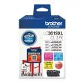 BROTHER LC3619XLCL 3PK 彩色墨盒套裝(高容量)