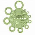 Linex 1314T 圈板尺(螺母和圓形模板)