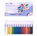 PENTEL FFPC1-12 染布手彩顏料(12色)