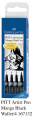 FABER 167132 PITT 美術畫筆(4支套裝) Manga Black