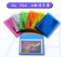 GLOBE 966 PVC 螢光咭片簿(6格)