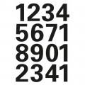 HERMA 4168 數字貼紙(黑字) 0-9