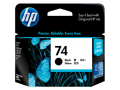 HP 74 黑色原廠墨盒 (CB335WA)