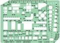 Linex 1263S 圈板尺(裝飾模板) 1:100