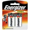 勁量 Energizer® 鹼性電芯 - C電,2粒裝