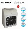 NIPPO NTR-2800 六欄位電子打卡鐘/打咭鐘(內置後備電池) ** New **