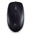 Logitech M100r 光學滑鼠(黑色)