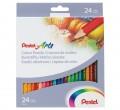 PENTEL CB8-24 24色木顏色筆