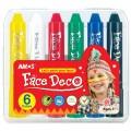 AMOS FD5PC6 膠盒面彩(6色)
