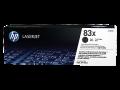 HP 83X 高容量黑色原廠 LaserJet 碳粉盒 (CF283X)