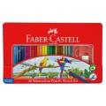 Faber-Castell 115936 48色水溶木顏色(鐵盒裝)