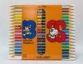 克麗 COLLEEN 785-36 雙頭木顏色筆(18支/36色)