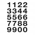 HERMA 4136 數字貼紙(黑字) 0-9