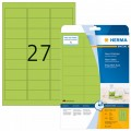 HERMA 多用途A4標籤紙(螢光色) 20張裝