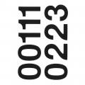 HERMA 4189 數字貼紙(黑字) 0-9