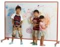 日本馬印牌 LBH46TD 兒童專用活動雙面搪瓷白板(4x6尺)
