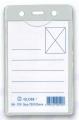 GLOBE GN709 72X105mm 直身軟膠證件牌(淨牌)