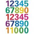 HERMA 3279 數字貼紙(glittery) 0-9