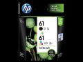 HP 61  原廠墨盒(組合裝黑色/三色混合墨盒) CR311AA