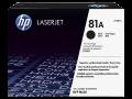 HP 81A 黑色原廠 LaserJet 碳粉盒 (CF281A)