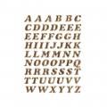 HERMA 4192 英文字母貼紙(金字) A-Z