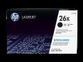 HP 26X 高容量黑色原廠 LaserJet 碳粉盒(CF226X)