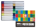 日本櫻花牌 SAKURA POCT-16P 廣告彩(15色紙盒裝)另加1支白色