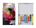 SAKURA XNCW-24MPN Koi Water Colors Creative Art Colors Set 水彩磚(24色)