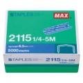 MAX 2115 1/4-5M 拱型針(5000枚)