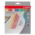 STABILO Aquacolor 1624-3 專業級木顏色(24色/紙盒裝)