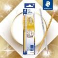 STAEDTLER 131 80 C12 金銀鉛筆(12支裝)