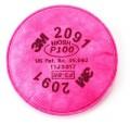 3M 2091 P100過濾棉(1對)
