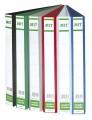 MIT 8230 A4 3孔三面插頁文件夾(25MM)