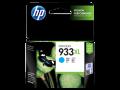 HP 933XL 高容量彩色原廠墨盒