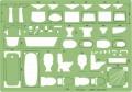Linex 1135S 圈板尺(衛生模板)