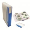 HOLLIES SL-614-96 磨沙CD文件套 (96隻裝) 藍色