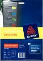 AVERY L7163 A4 顏色標籤(20張裝) 99.1 x 38.1mm