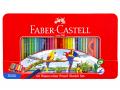 Faber-Castell 115965 60色水溶木顏色(鐵盒裝)