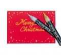 PENTEL XGFH Metallic Brush Pen 漆油科學毛筆( 金色/銀色)