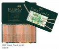 FABER 112136 36色粉彩筆套裝(鐵盒裝)