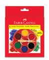 Faber-Castell 125007 6色珍寶水彩顏料盒