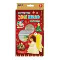 AMOS SD10P6-CH 6色玻璃彩連6小掛牌套裝(聖誕版) ** 售罄 **