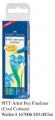 FABER 167006 PITT 美術畫筆(4支套裝) Fineliner (Cool Colours)