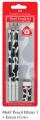 FABER 118390 3支裝乳牛紋三角鉛筆+擦膠