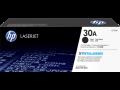 HP 30A 黑色原廠 LaserJet 碳粉盒(CF230A)