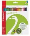 STABILO 6019/2-24 GREEN 環保系列木顏色筆(24色)