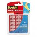 3M Scotch® R103 可再貼透明膠貼(1/2