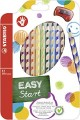 STABILO EASYcolors 332/12 右手專用的力學設計木顏色筆(12色)