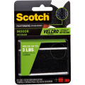 3M Scotch® 4731 魔術貼(室內用) - 黑色2對